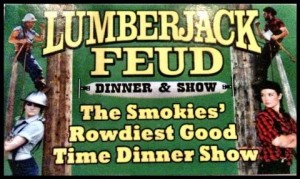 LumberJack Feud – Pigeon Forge Dinner Theater #Brandcation #PigeonForge