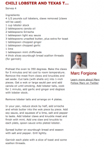 Macy's Culinary Council Chef Marc Forgione- Entertaining Your Party Guests