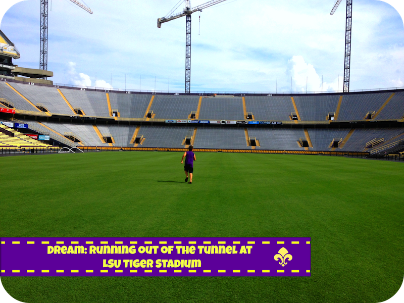 New Orleans Family Travel Guide #BayouTravel  Dream LSU Football Stadium