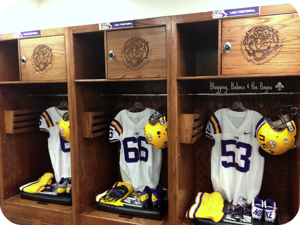 Attrayant LSU Locker Room