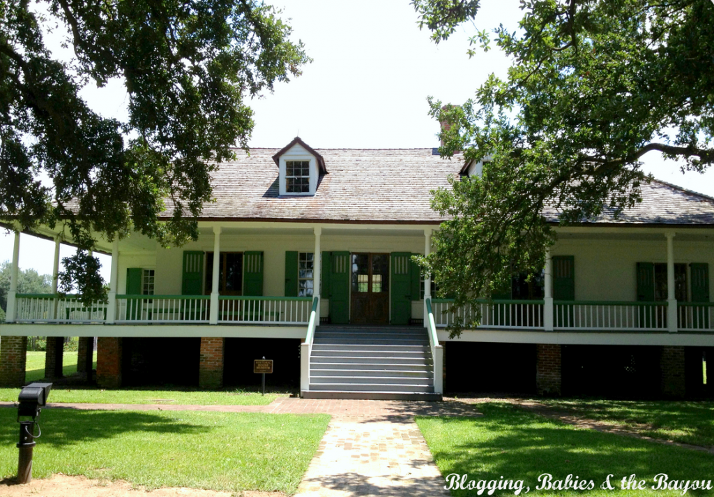 New Orleans & Baton Rouge Plantation - A Mound in La. History – Magnolia Mound Plantation #BayouTravel