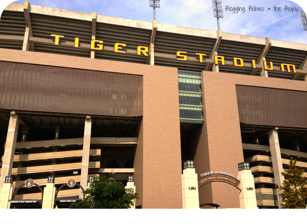 Tiger Stadium Baton-Rouge Louisiana