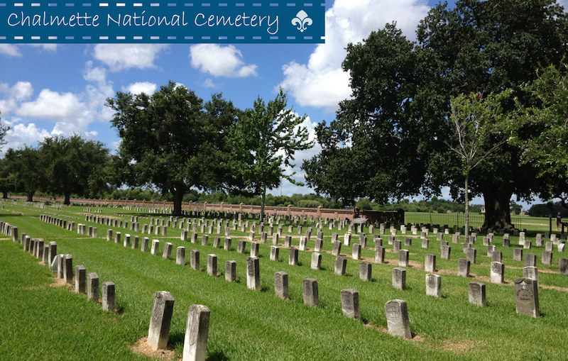 Chalmette National Cemetery Jean Lafitte National Historical Park #BayouTravel