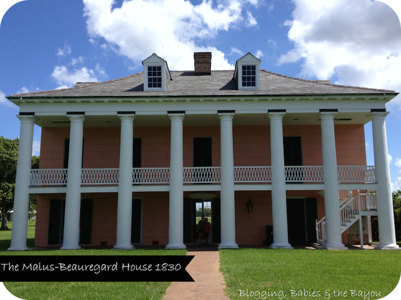 The Malus Beauregard House Chalmette Louisiana