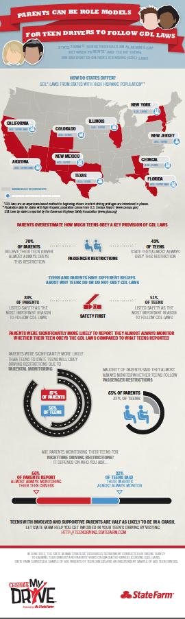Celebrate My Drive Statefarm Infographic