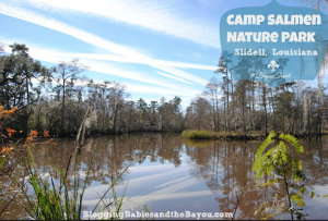 Louisiana Travel – Enjoying the Great Outdoors at Camp Salmen Nature Park #BayouTravel