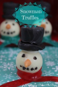 Holiday Classroom Treats – Snowman Truffles Recipe