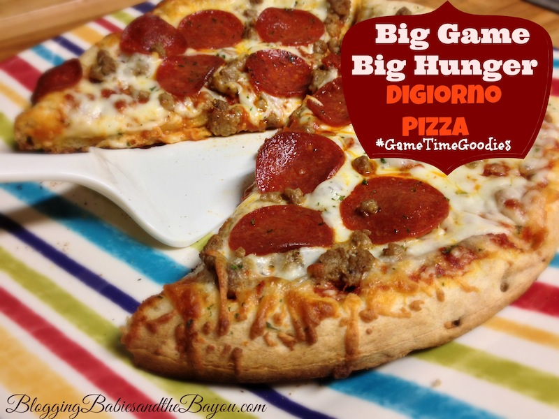 Game Day Menu Items like Digiorno Pizza Rollback at Walmart for $4.50 #GameTimeGoodies #shop #cbias