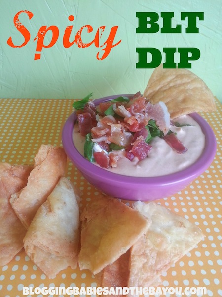 Superbowl Recipes - Spicy BLT Dip