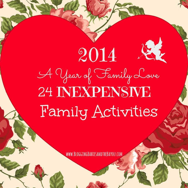 24 Inexpensive Family Activitiy