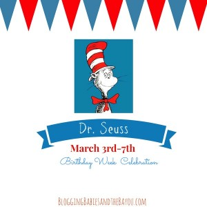 Dr. Seuss Birthday Celebration Week - Crafts, Recipes and more