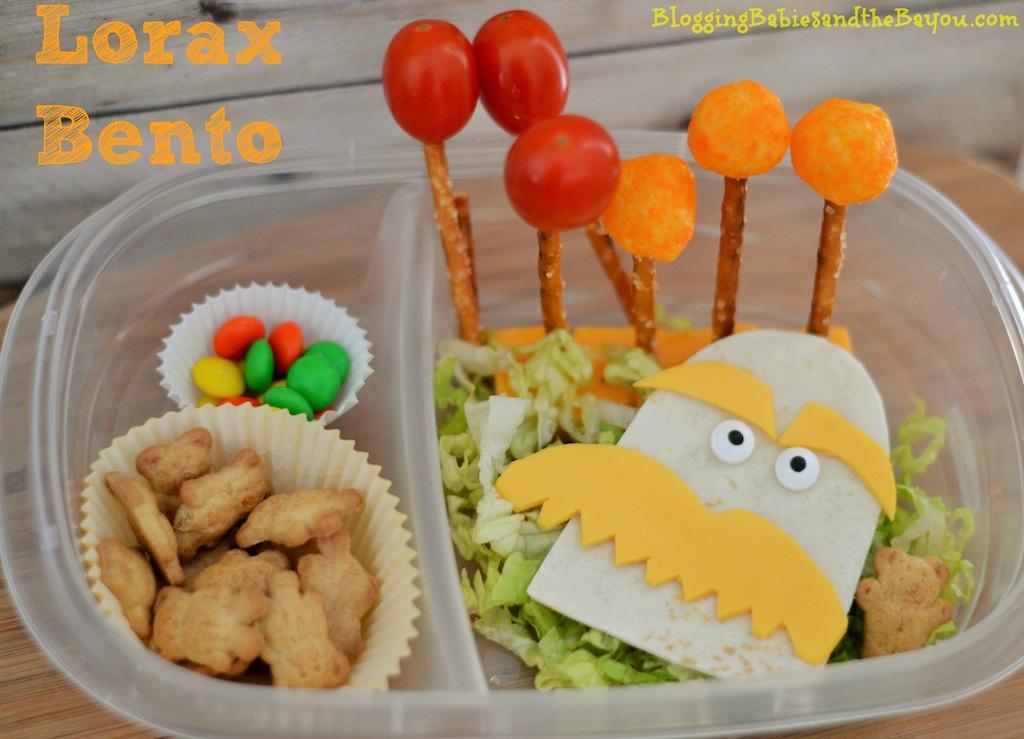 Dr. Seuss  The Lorax  Snack Ideas - Easy Bento Ideas