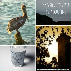 6 Reasons to Visit St. Augustine Florida #BayouTravel