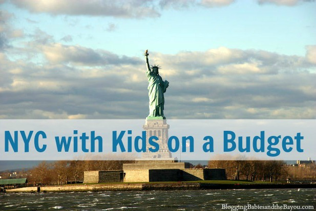 NYC with Kids on a Budget #BayouTravel