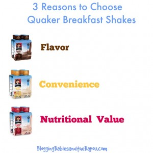 My Morning Routine – Quaker Breakfast Shakes #Sponsored
