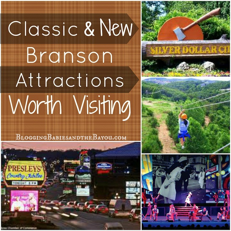 Branson Attractions - New & Old #BayouTravel