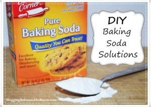 DIY Baking Soda Solutions - Easy steps to make your home a little more GREEN!
