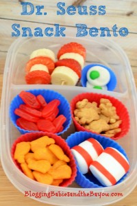 Dr. Seuss  Birthday Celebration – Snack Bento Ideas