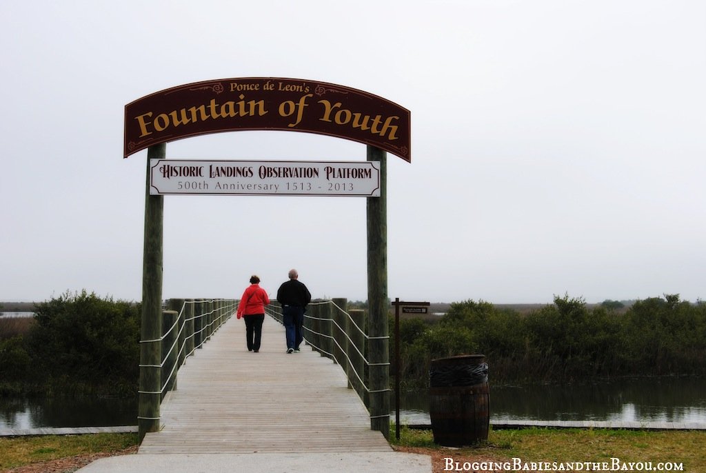 Fountain of Youth Historic Landings 500 years #BayouTravel