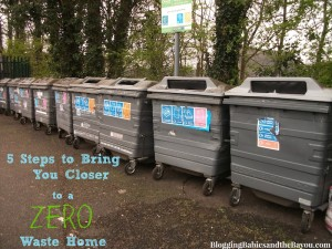 Go GREEN- 5 Steps to Bring You Closer to a Zero Waste Home
