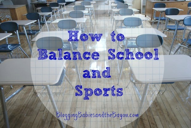 How to Balance School & Sports