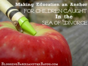 Making Education an Anchor for Children Caught In the Sea of Divorce