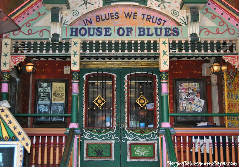 New Orleans Family Travel Guide #BayouTravel House of Blues