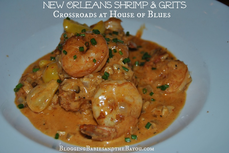 New Orleans Shrimp and Grits at Crossroads House of Blues