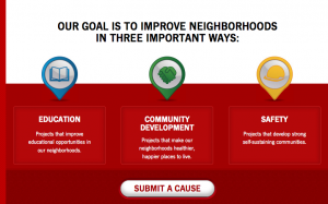 State Farm wants to invest in your Community and Familia #‎StateFarmAyuda‬ ‪#‎SFNeighborhoodAssist‬ ‪#‎AD‬