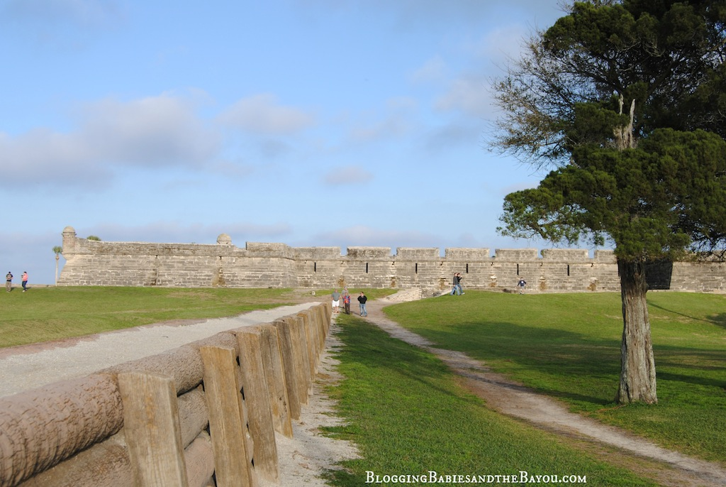 St. Augustine Florida The Castillo de San Marcos is the oldest masonry fort in the continental United States  #BayouTravel