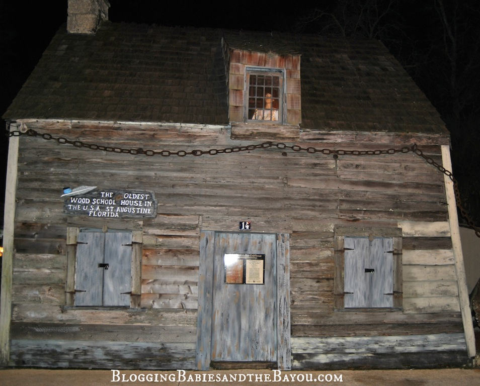 The Oldest Wood School House in the USA - St. Augustine Florida #BayouTravel