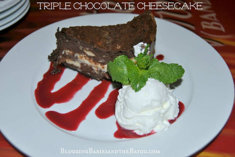 Triple Chocolate Cheesecake - Crossroads House of Blues Dining