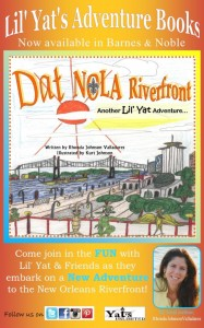 Yats Unlimited New Book Release: DAT NOLA Riverfront plus #Sponsored Giveaway