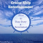Cruise Ship Entertainment #SeastheDay #BayouTravel