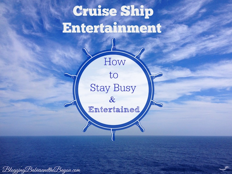 Cruise Ship Entertainment - Royal Caribbean Liberty of the Seas  #SeastheDay #BayouTravel