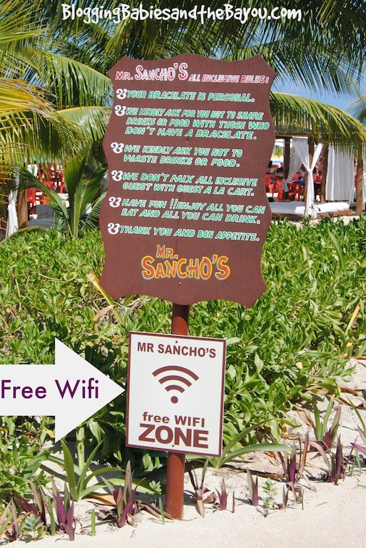 How to find free wifi in Mexico - Cruise & Travel Tips #BayouTravel