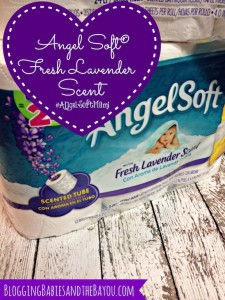 Freshen Your Bathroom: 3 Month Supply of Angel Soft with Fresh Lavender Scent #AngelSoftMami #ad