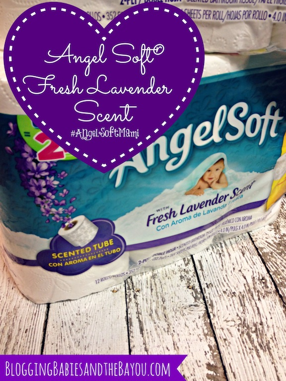 Angel Soft® with Fresh Lavender Scent #AngelSoftMami #Ad