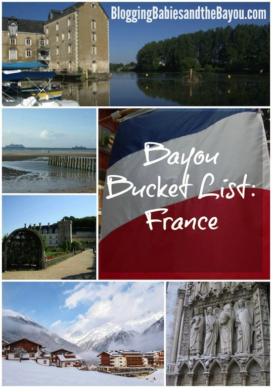 Bayou Travel Bucket List- France #BayouTravel
