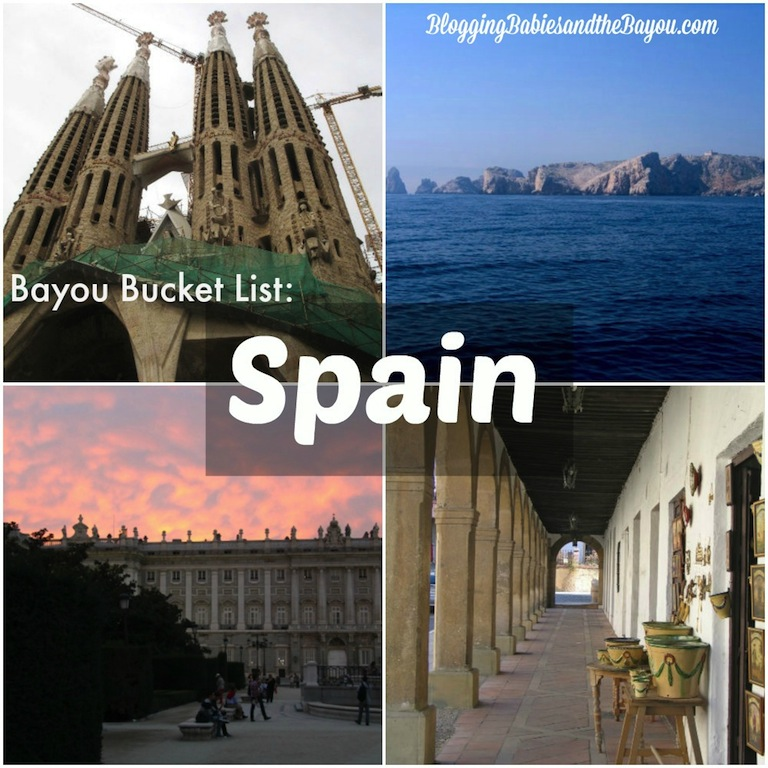 Bayou bucket List Spain #BayouTravel