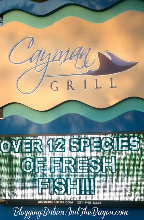 Cayman Grill Orange Beach, Alabama #BayouTravel