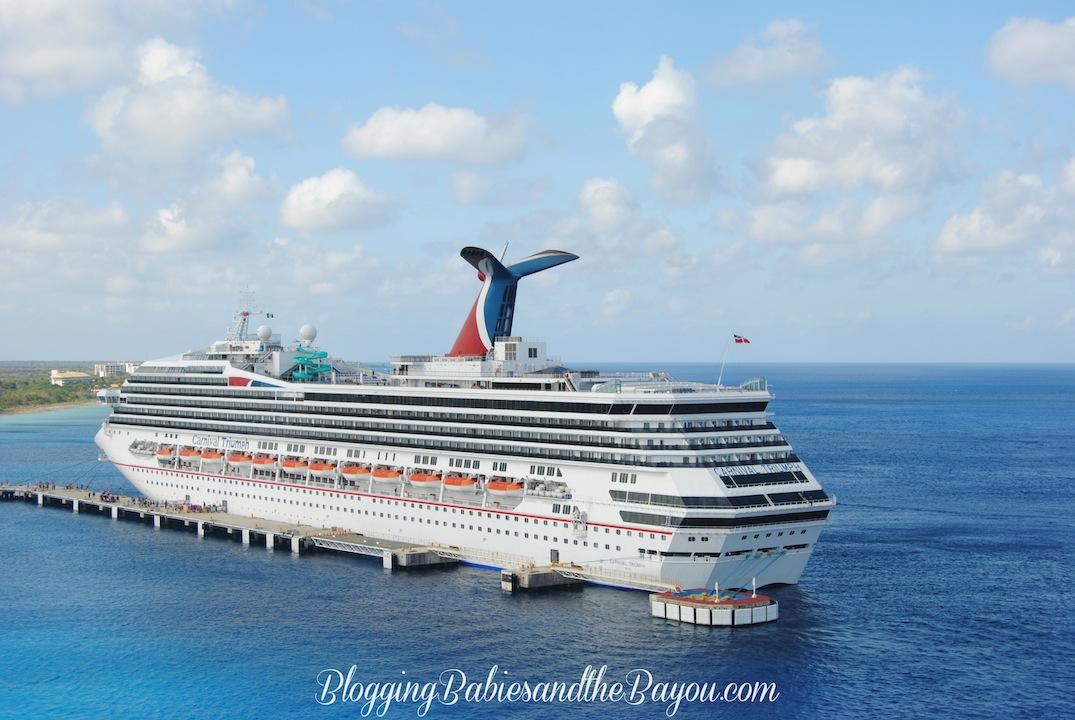 Cozumel, Mexico Cruise Ship Neighbor #BayouTravel
