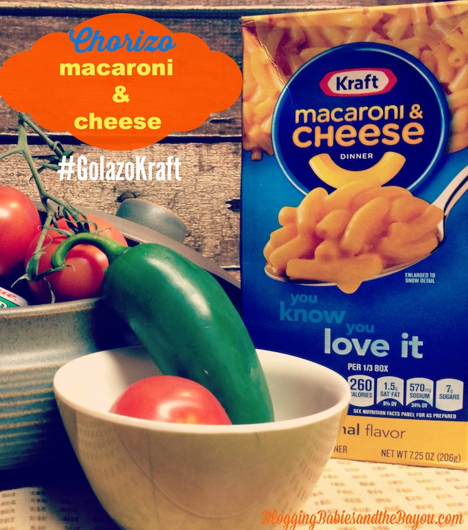 El Campeonato y Chorizo Mac & Cheese Recipe #GolazoKraft #Shop #CollectiveBias #MyColectiva