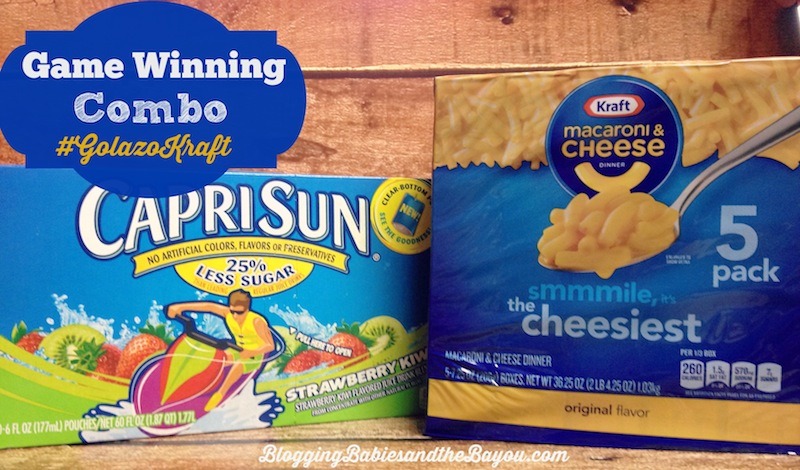 Game Winning Snack Combination Solutions with Capri Sun & Kraft Macaroni and Cheese #MyColectiva #GolazoKraft #Cbias #CollectiveBias #Shop
