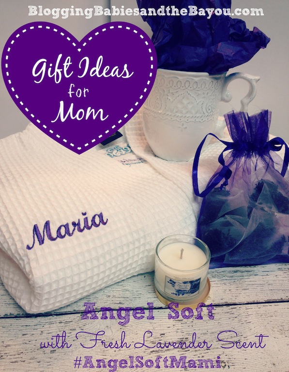 Gift Ideas for Mom Freshen Up Angel Soft® with Fresh Lavender Scent #AngelSoftMami