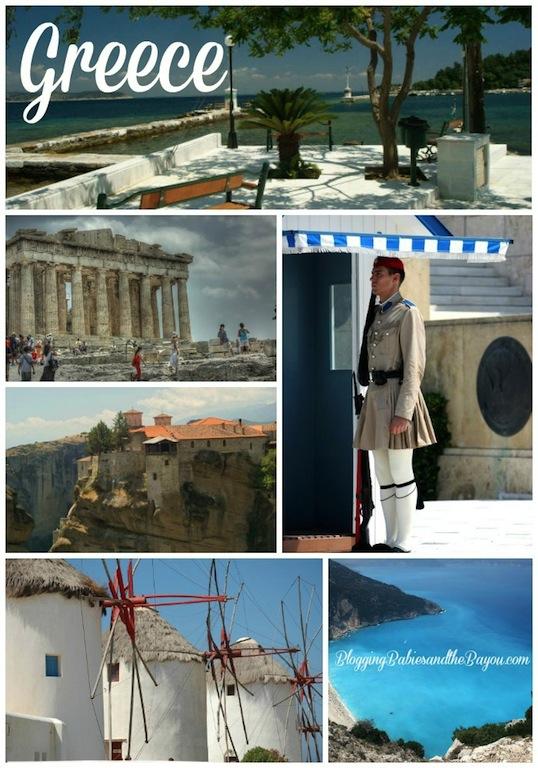 Greece Bayou Travel Bucket List  #BayouTravel