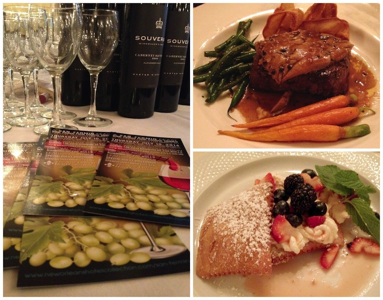 Hotel Mazarin Wine Dinner #NOWFE #BayouTravel