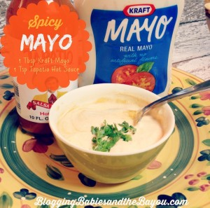 How to make spicy Tapatio with Kraft Mayo #SayCheeseburger #Cbias #CollectiveBias #Shop