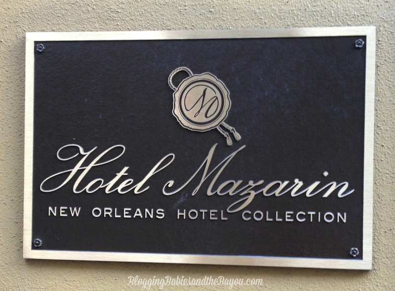 New Orleans Hotel Spotlight Hotel Mazarin #BayouTravel
