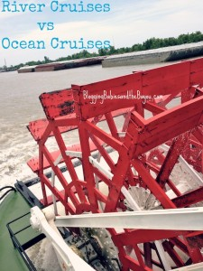 River Cruises vs Ocean Cruises – Similarities and Differences #BayouTravel